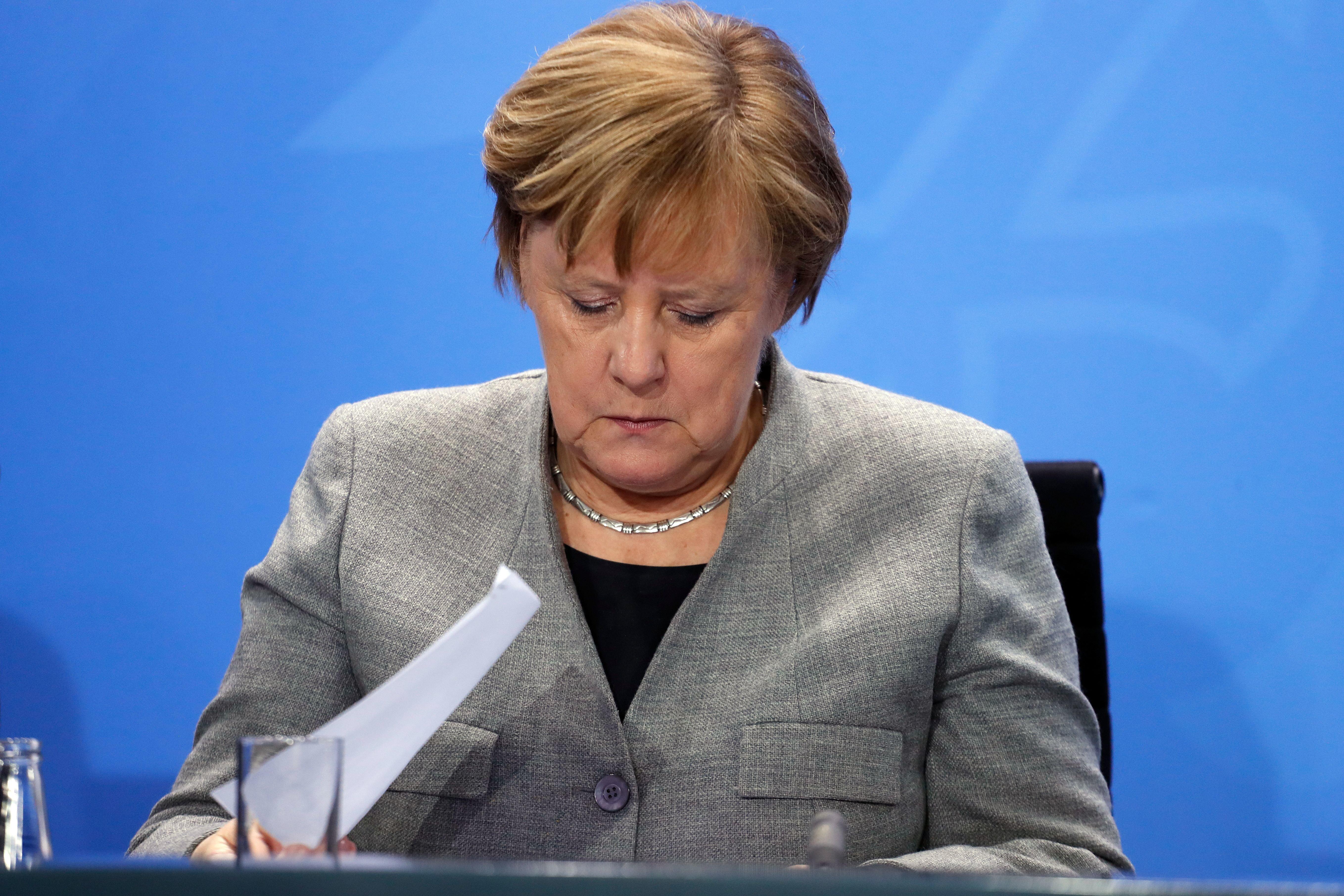 Merkel wirft Russland Verletzung von Abrüstungsvertrag