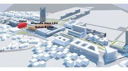 Un centre commercial et un nouvel hôtel près de la gare Rabat