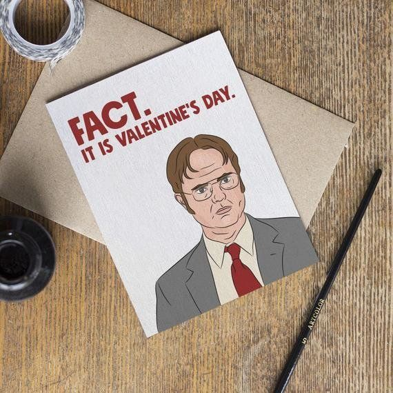 The Office' Valentine's Day Cards, For The Jim To Your Pam
