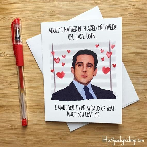 The Office Valentines Day Cards For The Jim To Your Pam