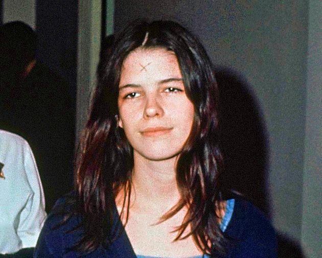 A 1971 photo of 19-year-old Leslie Van Houten, she is now