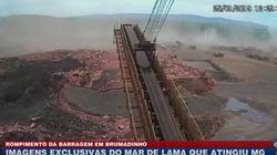 Vídeo mostra momento em que onda de lama invade instalações da Vale em