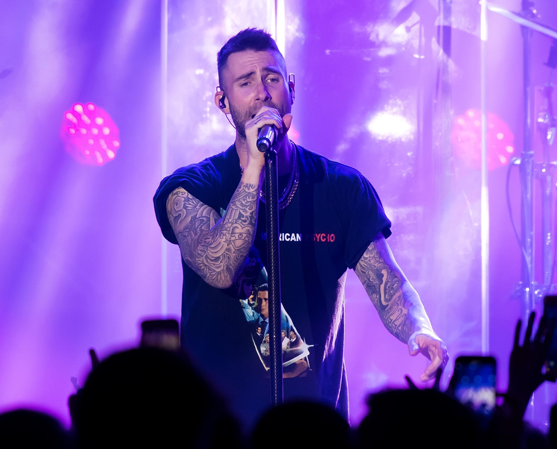 Maroon 5 frontman Adam