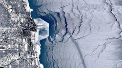 Le froid à Chicago a gelé le lac Michigan (et inspiré les