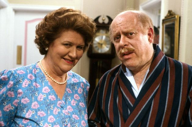 Clive Swift played Richard Bucket in Keeping Up