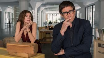 """Renee Russo and Jake Gyllenhaal in Dan Gilroy's """"Velvet Buzzsaw"""""""