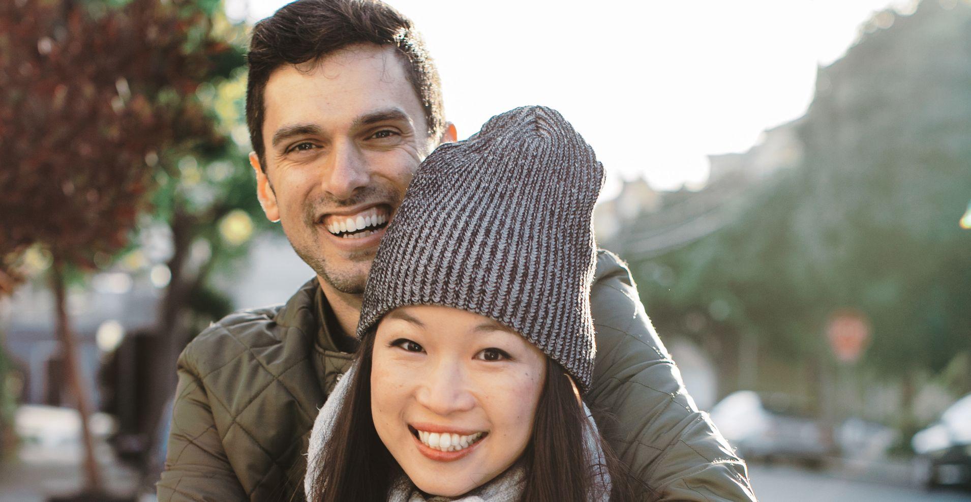 asian girl white guy