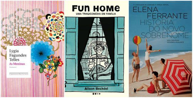 Quatro romances e uma graphic novel compõem a lista de leituras da redação do HuffPost...