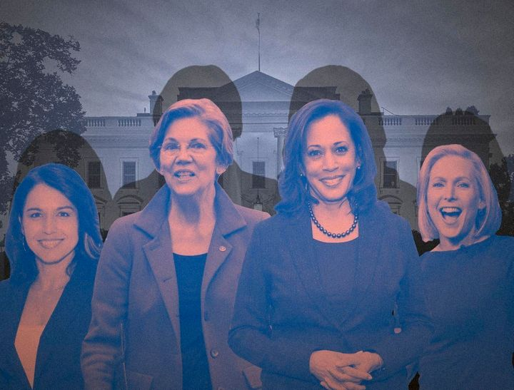 Rep. Tulsi Gabbard (D-Hawaii), as well as Sens. Elizabeth Warren (D-Mass.), Kamala Harris (D-Calif.) and Kirsten Gillibrand (