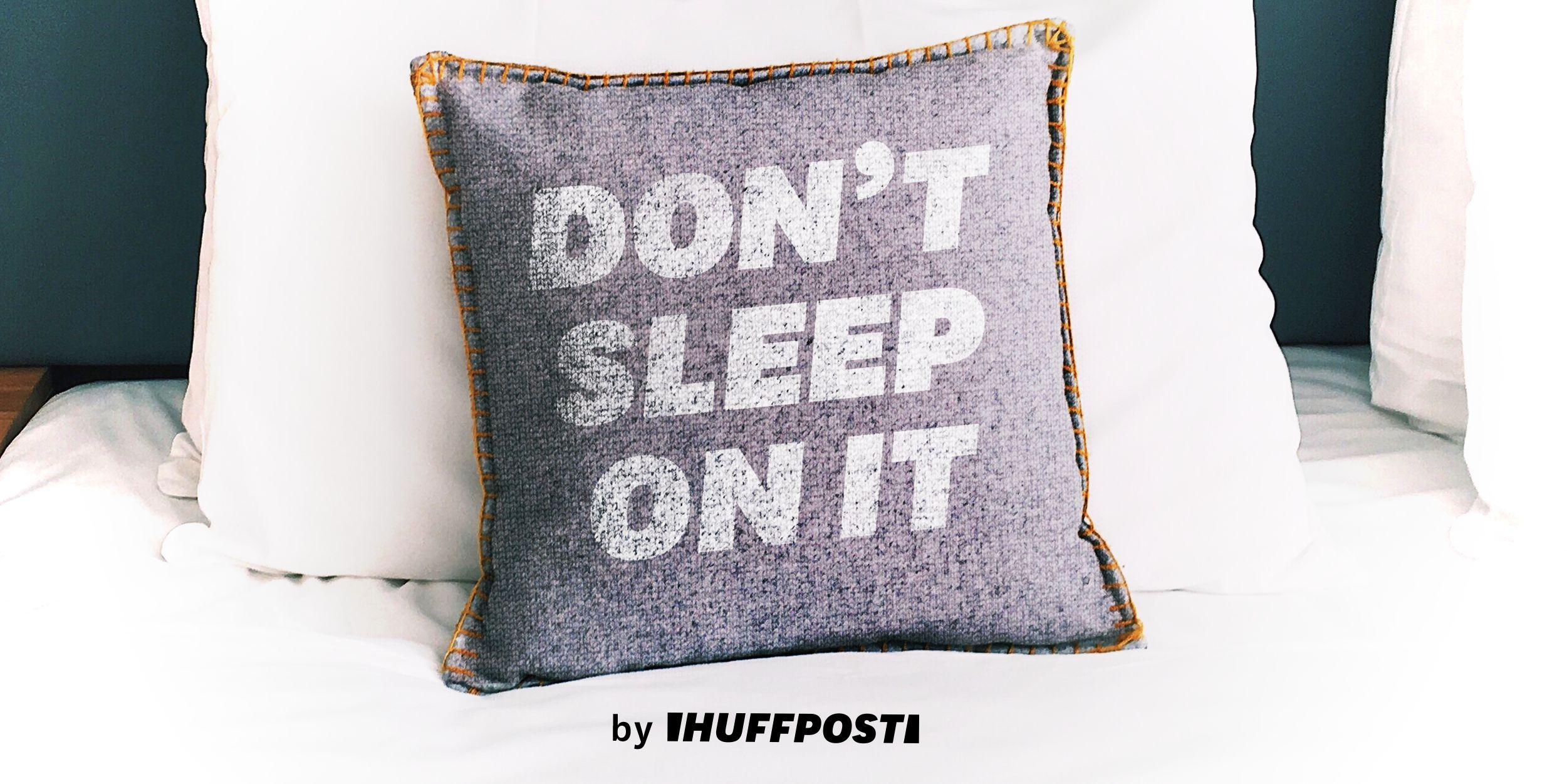 """""""Don't Sleep On It"""" art"""