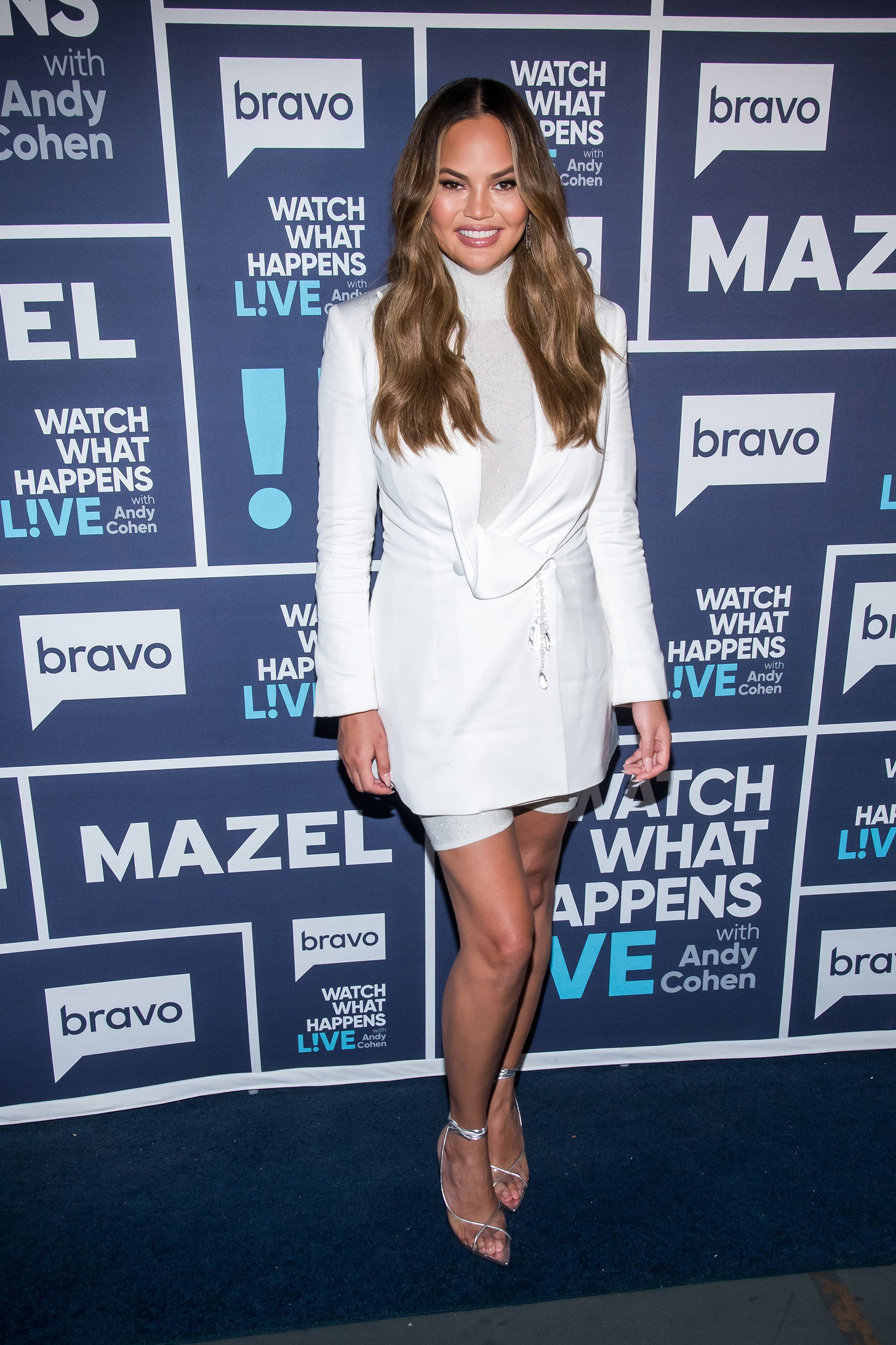 WATCH WHAT HAPPENS LIVE WITH ANDY COHEN -- Pictured: Chrissy Teigen -- (Photo by: Charles Sykes/Bravo/NBCU Photo Bank via Getty Images)