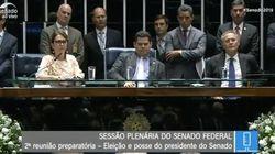 A sessão tumultuada no Senado que decidiu por voto aberto e ameaça