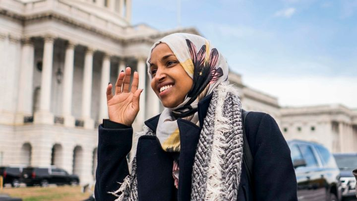 Rep. Ilhan Omar's opponents have looked for every opportunity to portray the Somali-born Muslim lawmaker as a threat to