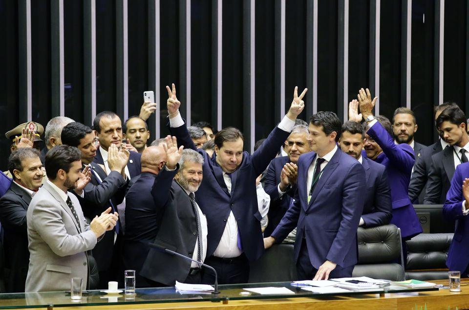 Rodrigo Maia foi eleito pela terceira vez seguida presidente da Câmara dos