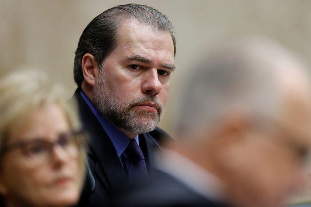 Dias Toffoli determinou votação secreta par\a presidente do