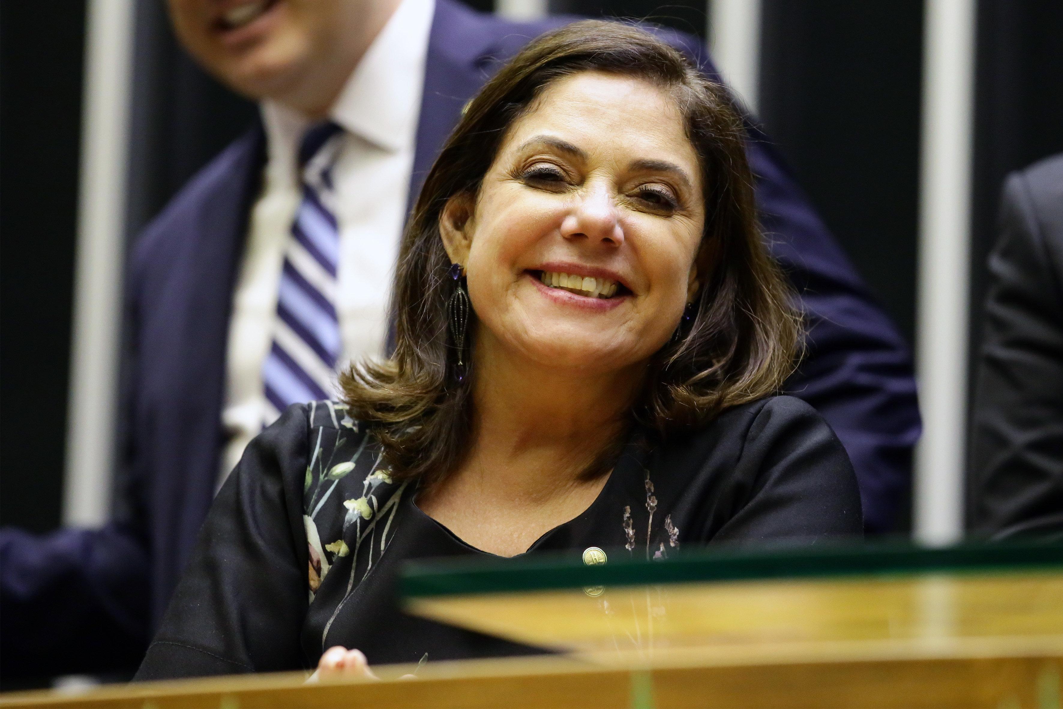 Soraya Santos conquistou a 1ª Secretaria com 315 votos contra 183 de
