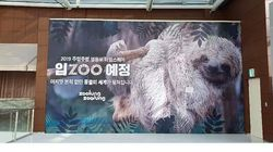 영등포 타임스퀘어 '실내동물원 개장 예고'를 두고 나온 엇갈린