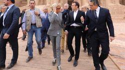 Les baskets Vuitton de Brigitte Macron exaspèrent des gilets jaunes, elle leur