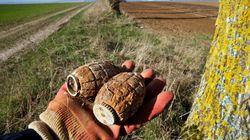 Εντοπίστηκε χειροβομβίδα του Πρώτου Παγκόσμιου Πολέμου μέσα σε φορτίο με