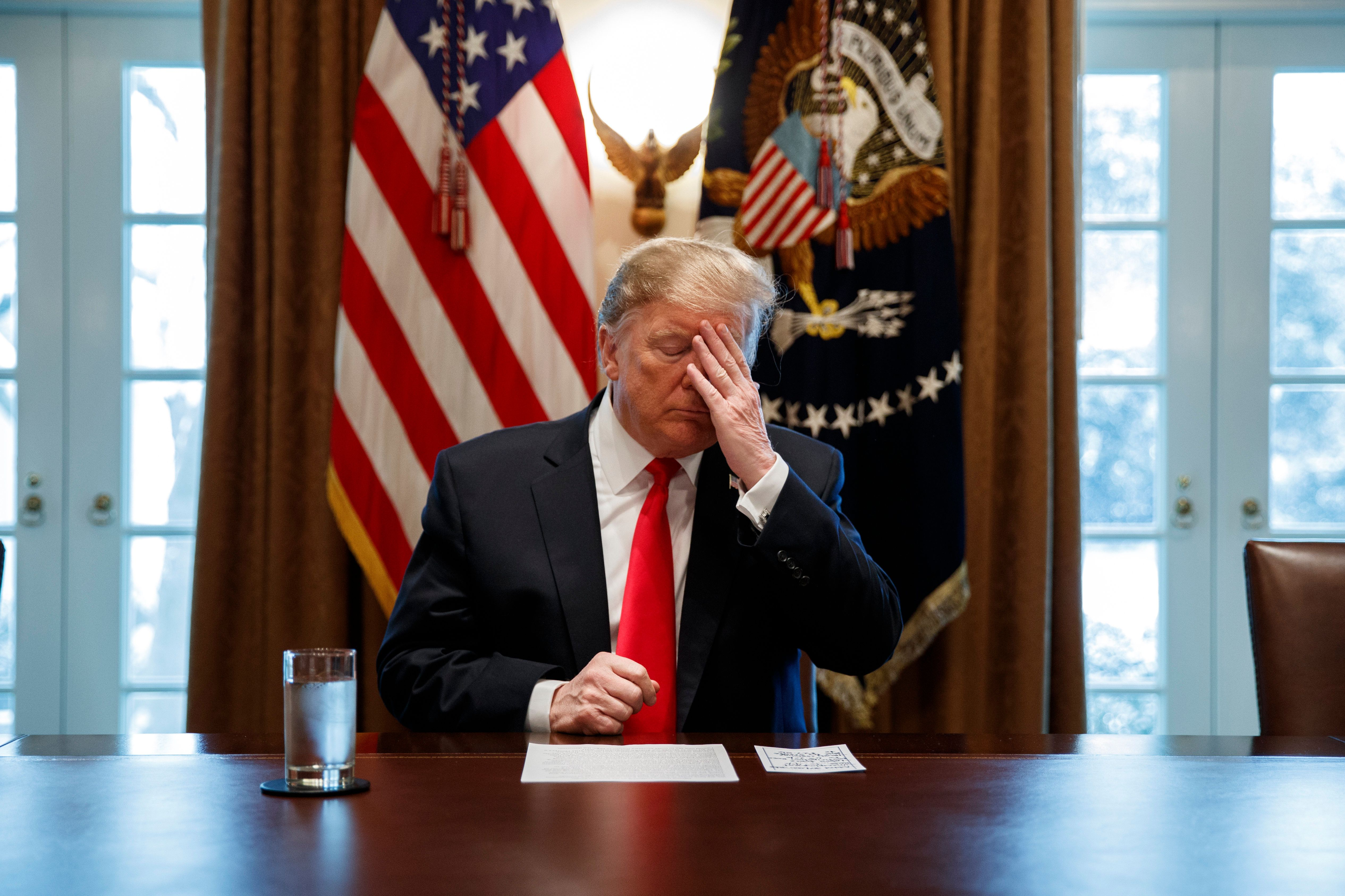 Trump Has Spent 60 Percent Of Working Hours Since Midterms In 'Executive Time:'