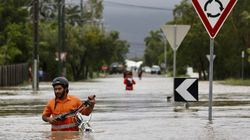 Μεγάλες πλημμύρες στην Αυστραλία - Κροκόδειλοι και φίδια στους