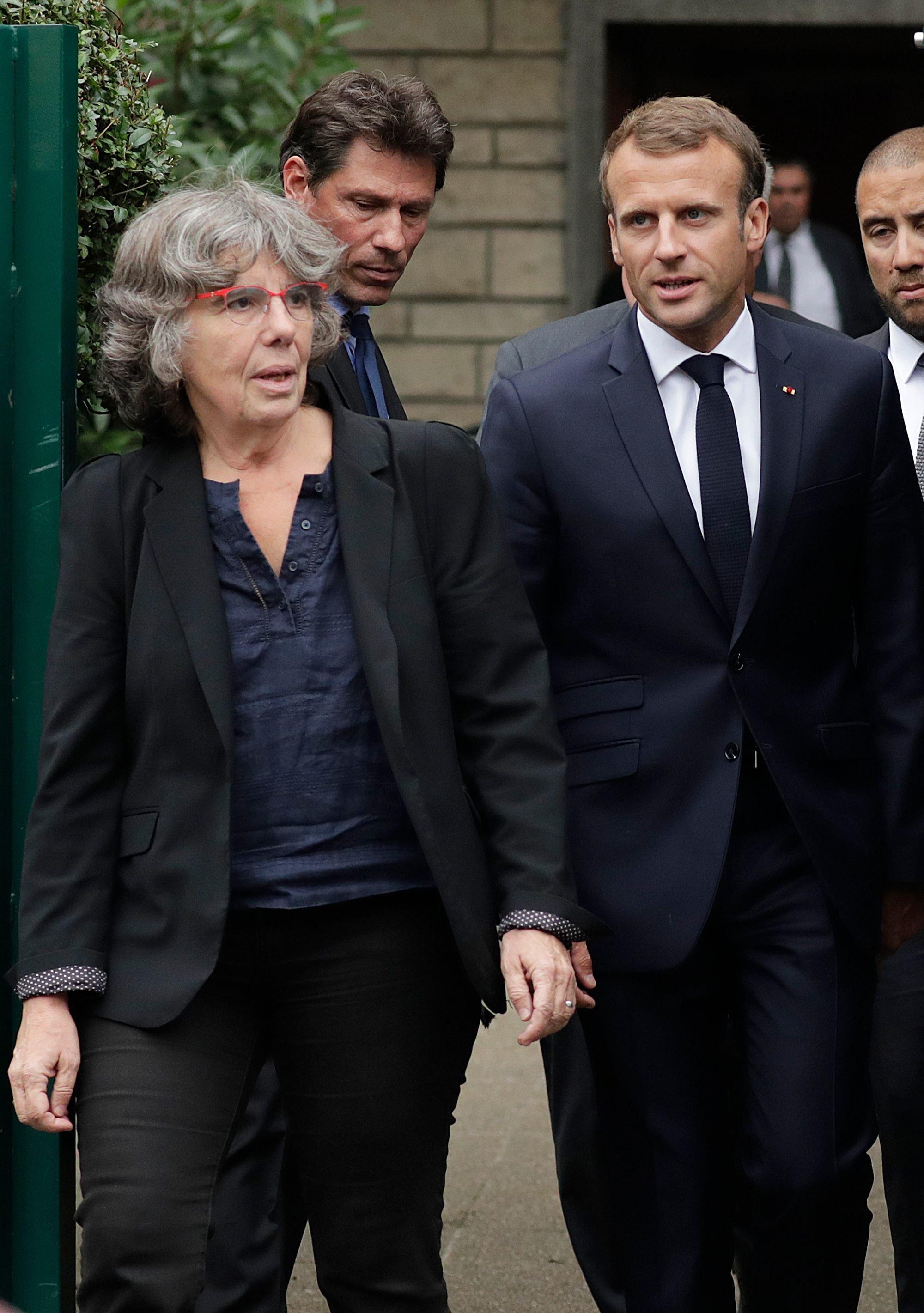Macron: Maurice Audin