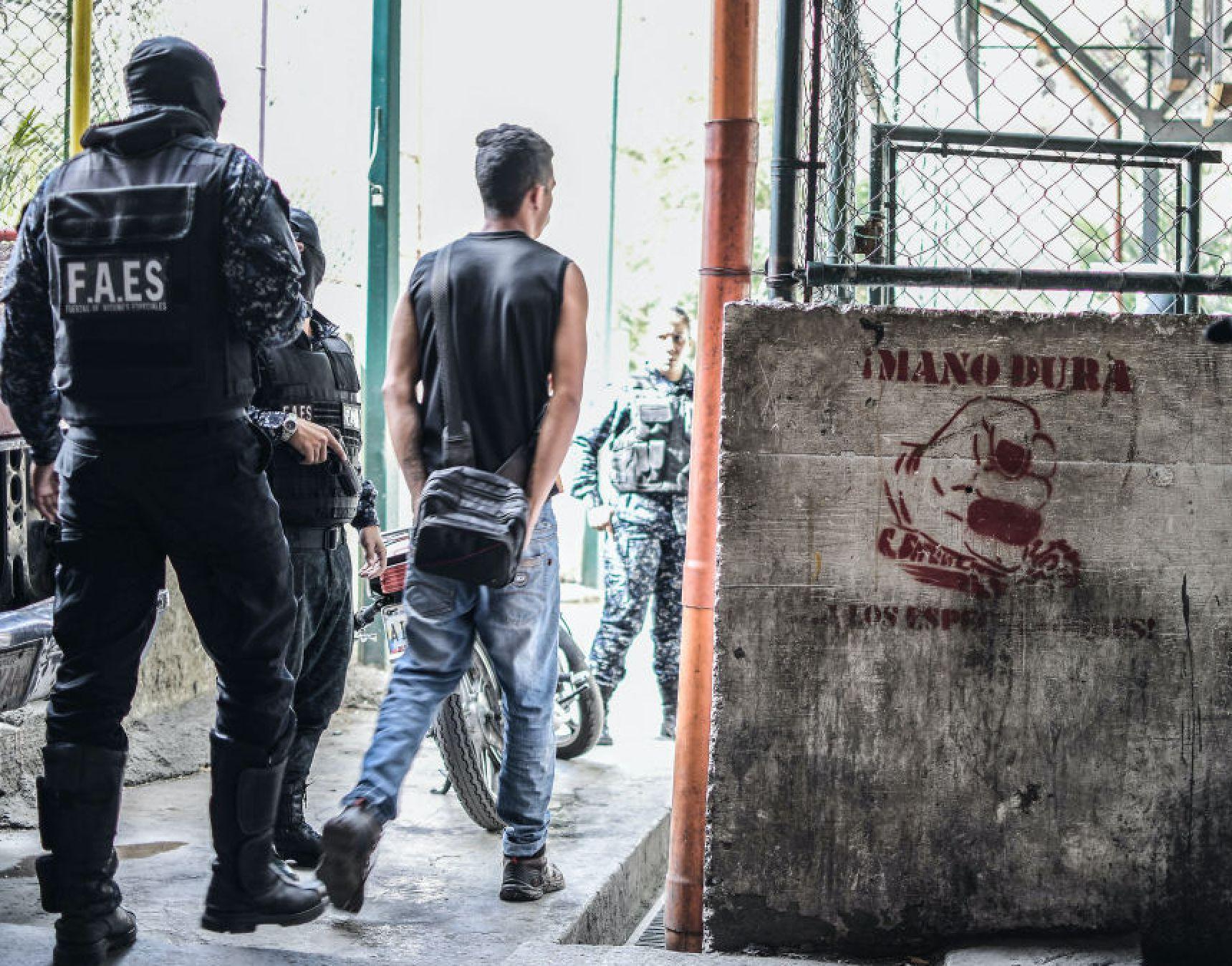 FAES: Η δύναμη κρούσης του καθεστώτος Μαδούρο - Ωμή βία και