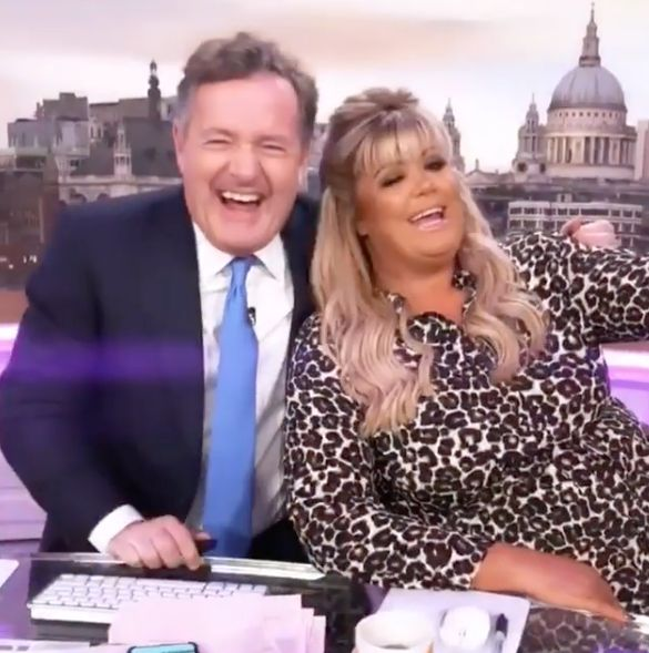 Gemma Collins And Piers Morgan Had An Unlikely Love-In On Good Morning Britain And It Was A