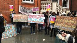Tensions Flare At Protest Against New Jamaica Deportation Charter