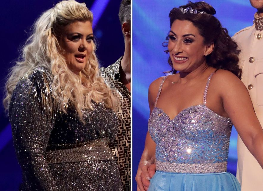 Gemma Collins Apologises To Eliminated Dancing On Ice Star Saira Khan: 'It Should've Been
