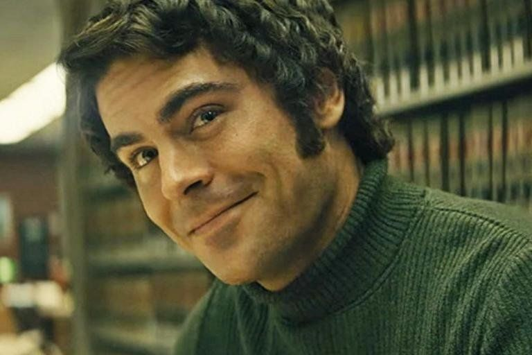 Zac Efron as Ted Bundy in the yet-to-be-released movie