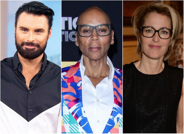 Rylan, RuPaul and Gillian Anderson are among those nominated at this year's British LGBT Awards