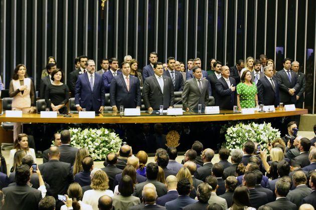 Bolsonaro pede apoio do Congresso com nova Previdência e 'guerra ao