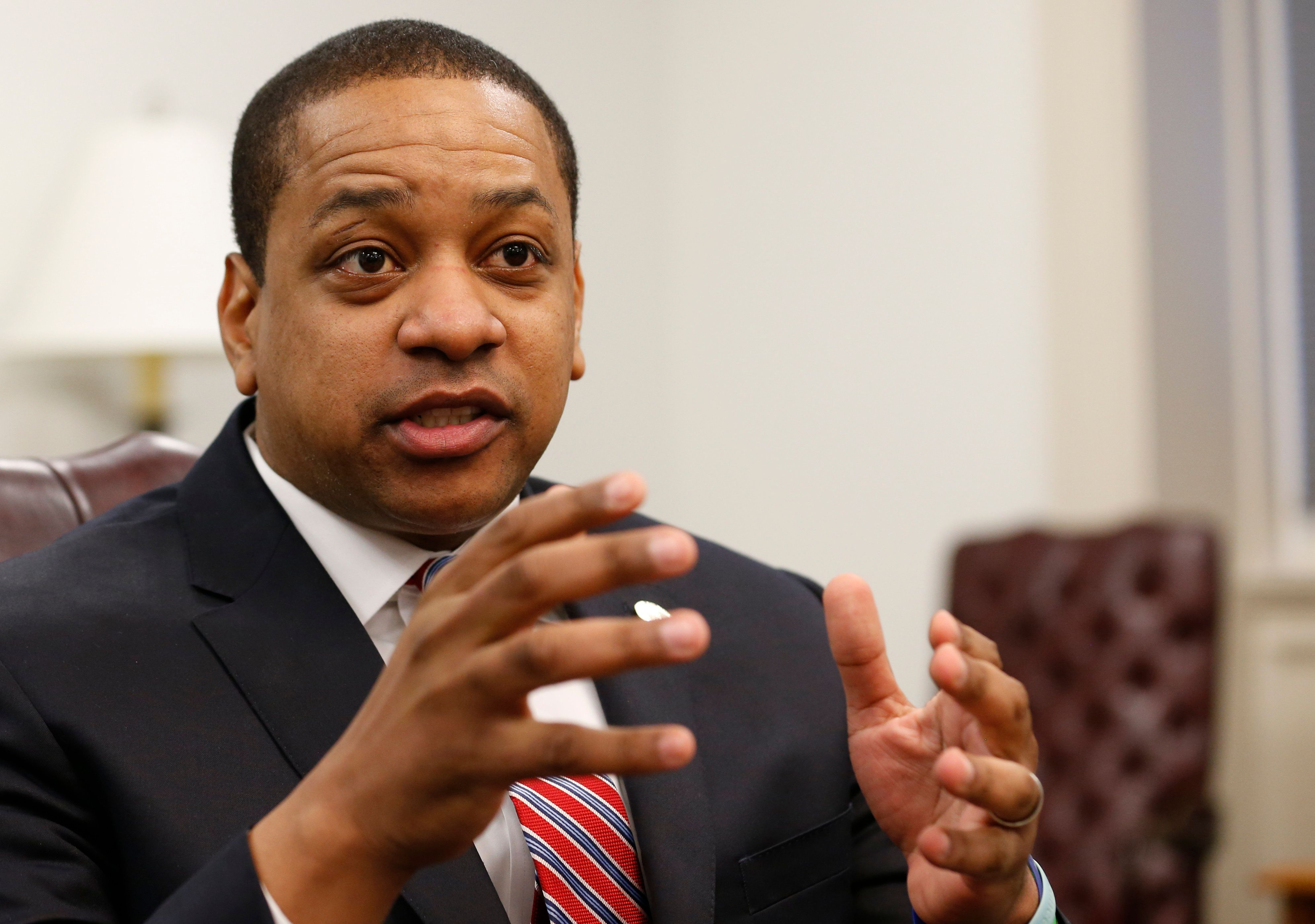 Virginia Lt. Gov. Justin Fairfax (D) is one of the only elected officials in Virginia who has not called on Gov. Ralph Northa
