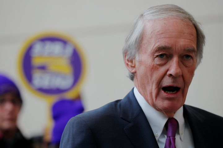 Sen. Ed Markey (D-Mass.) was the co-sponsor of the Waxman-Markey cap-and-trade bill Democrats virtually handed a decade ago. Now