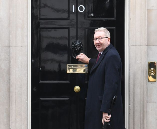 Unite boss Len McCluskey visited Number 10 last week