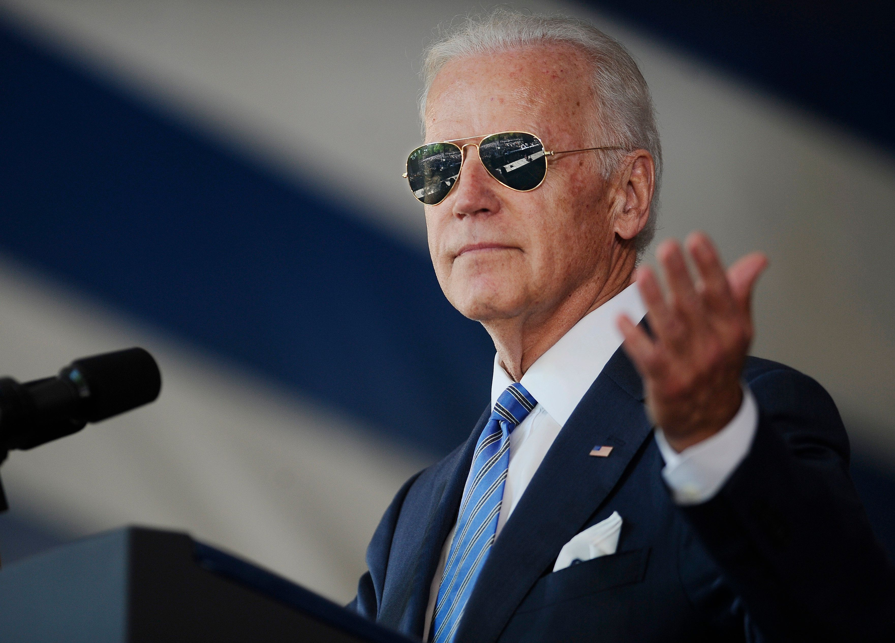 Democratic voters are debating which of their potential primary candidates, including former Vice President Joe Biden, is in