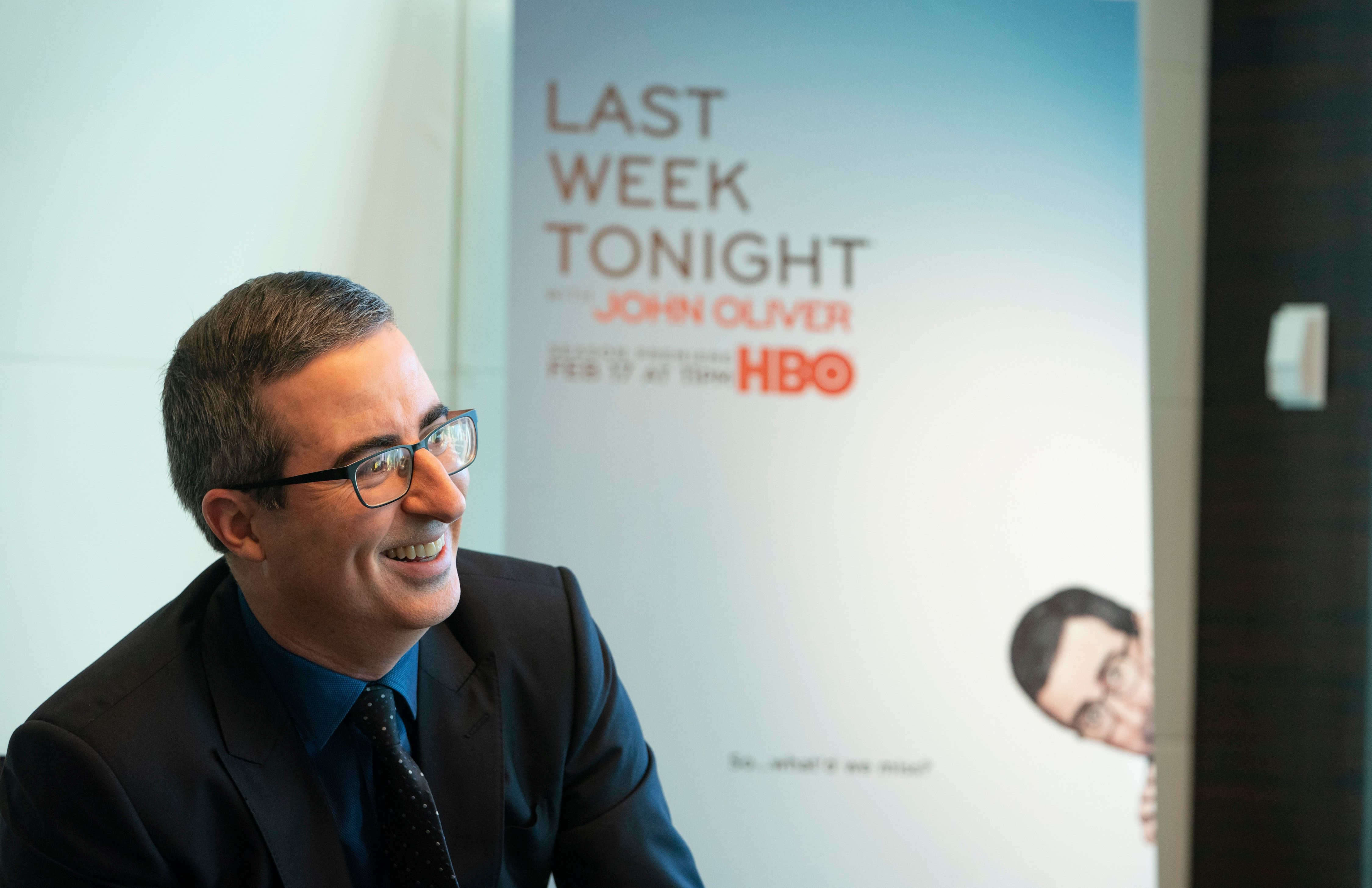 "John Oliver, ""Last Week Tonight"" host and notable disemboweler."