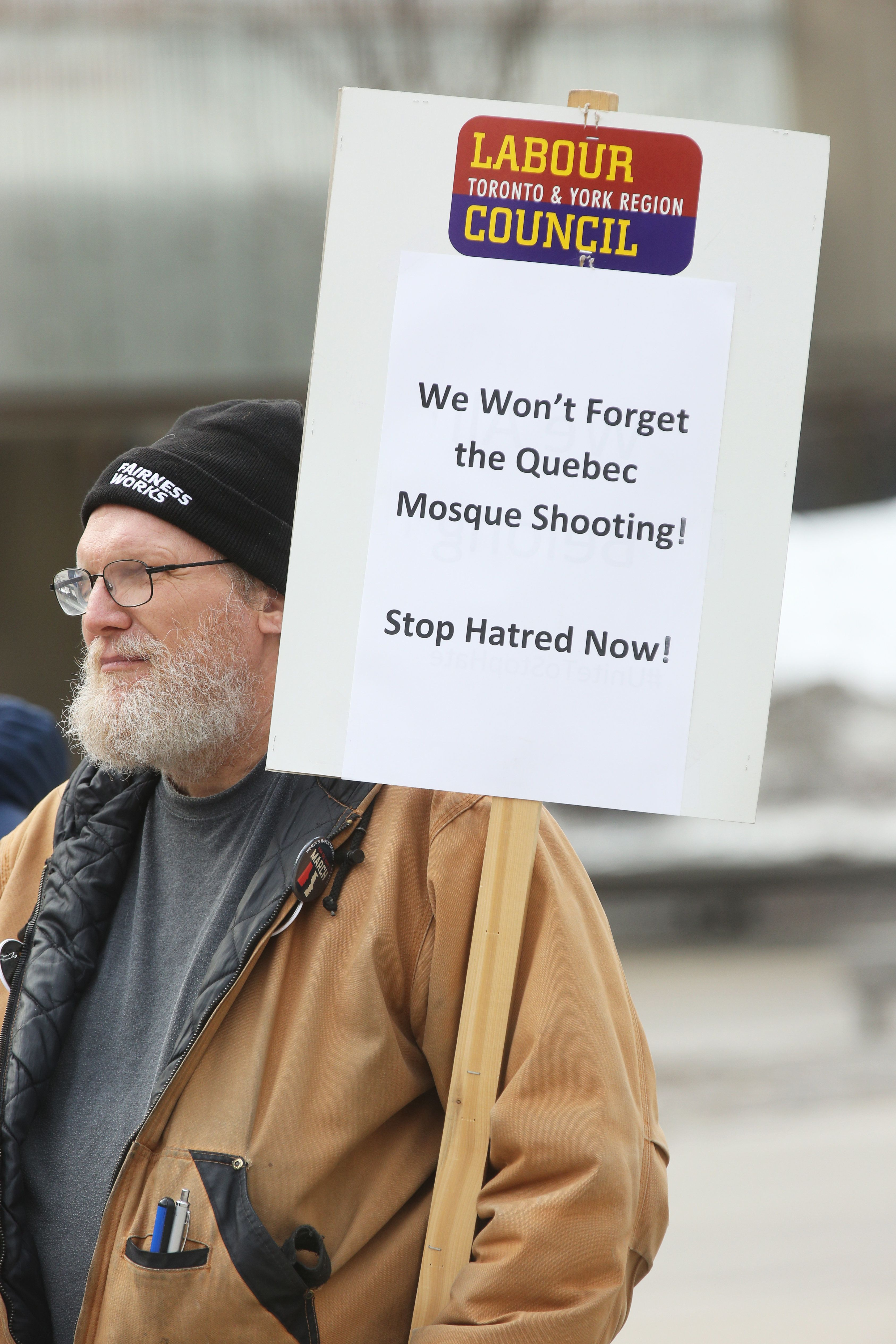 Hate Groups Showed Up At Canada's Oldest Mosque, Reigniting Familiar Fears