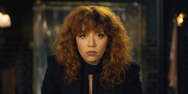 Nadia (Natasha Lyonne) gazing into her reflection, again, in