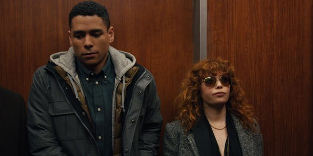 Nadia (Natasha Lyonne) and Alan (Charlie Barnett) being very chill about almost dying in