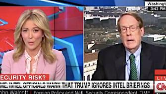"""The president referred to Nepal and Bhutan as """"Nipple"""" and """"Button""""at an intelligence briefing, Time magazine journalist John Walcott tells CNN."""