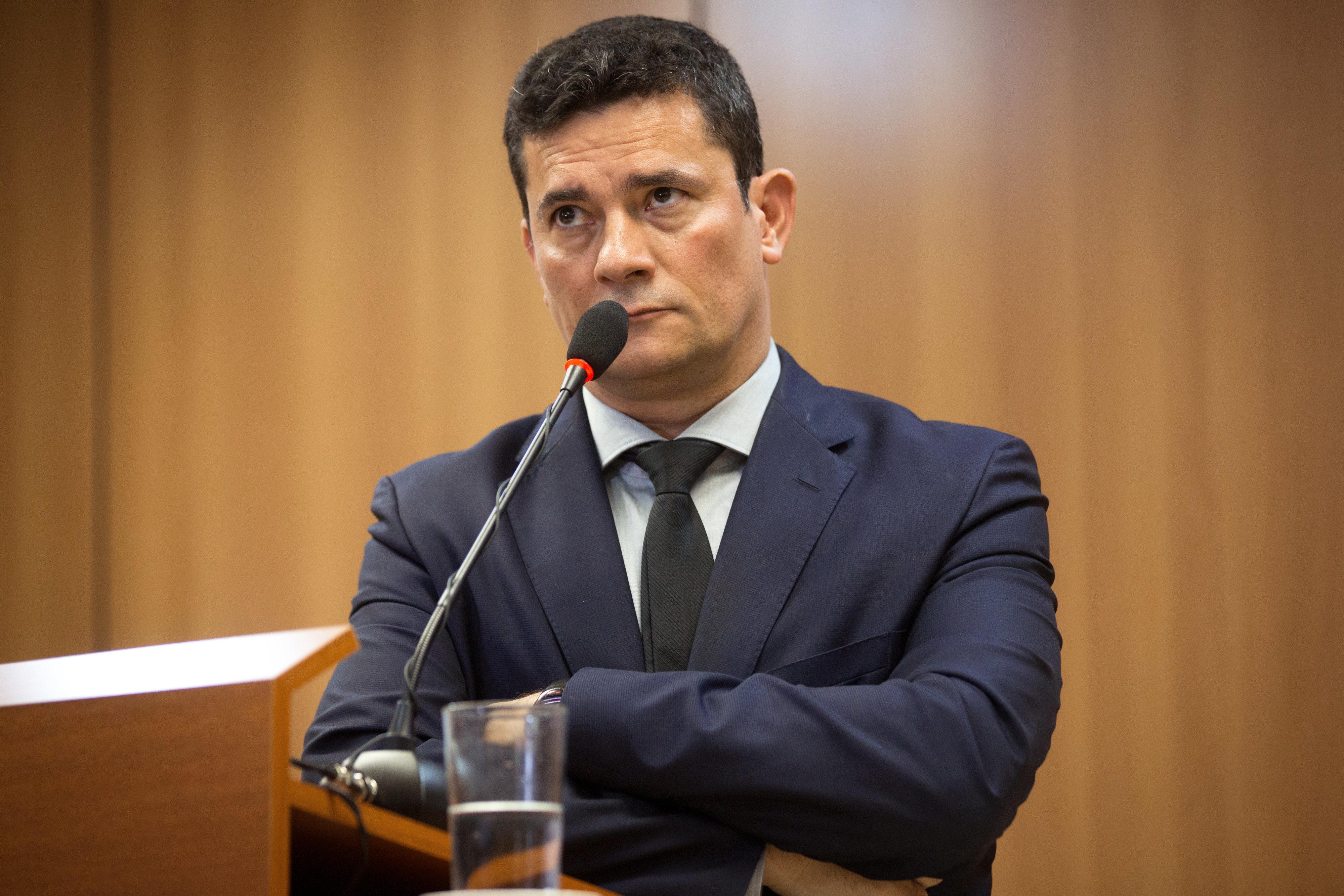 Ministro Sérgio Moro estabeleceu a prisão em 2ª como uma de suas 19 propostas paracombater...