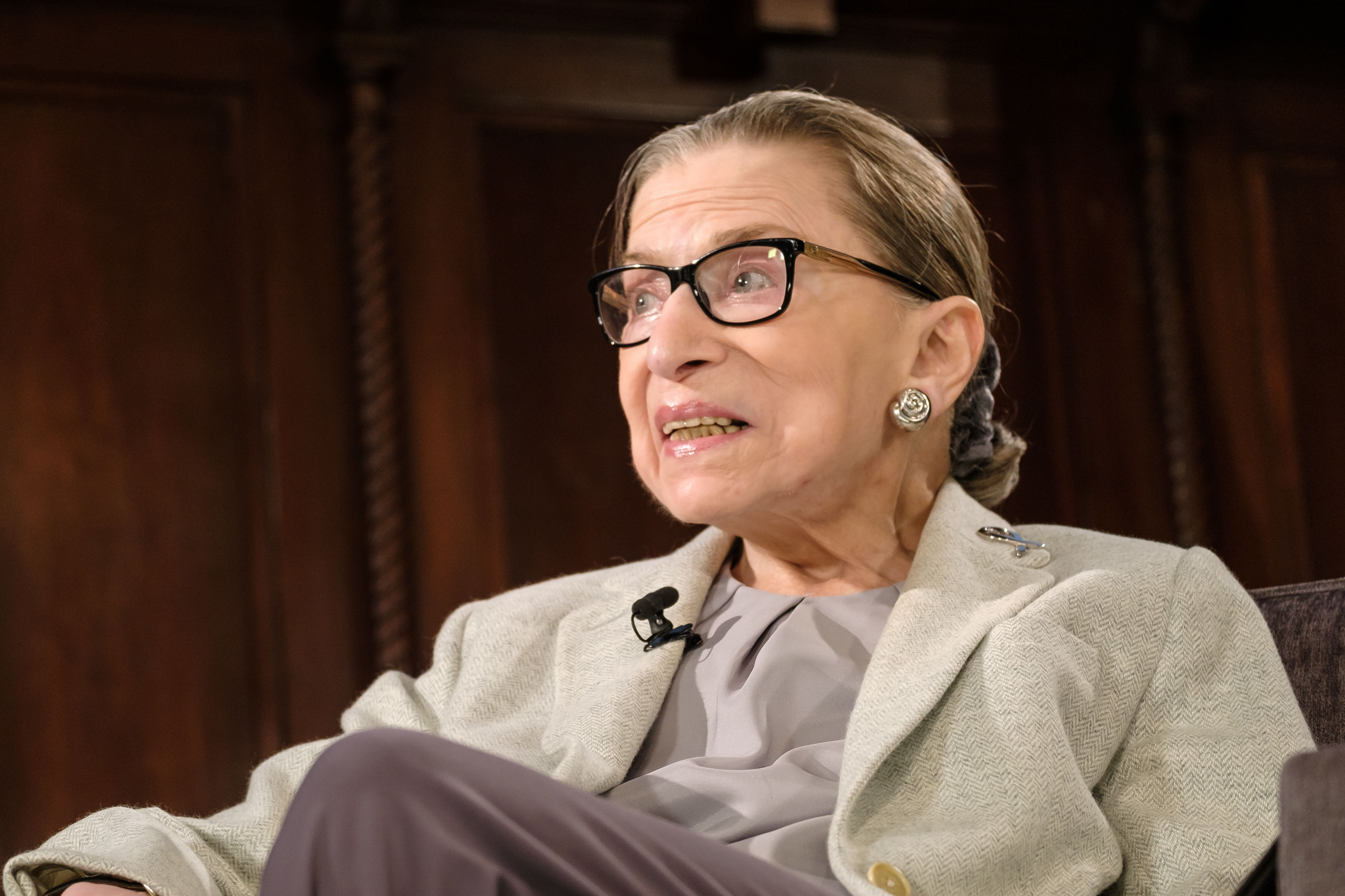 Ruth Bader Ginsburg Makes First Public Appearance Since