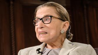 U.S. Supreme Court Associate Justice Ruth Bader Ginsburg is seen during a public appearance hosted by the Museum of the City of New York at the New York Academy of Medicine in New York, NY, USA on December 15, 2018. (Photo by Albin Lohr-Jones/Sipa USA)