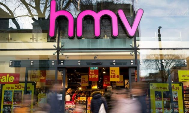 HMV entered administration after Christmas citing falling DVD sales as one factor for its