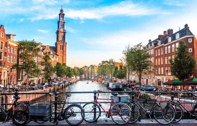 Ámsterdam ha visto protestas por la asequibilidad de la vivienda en la ciudad. Los manifestantes...