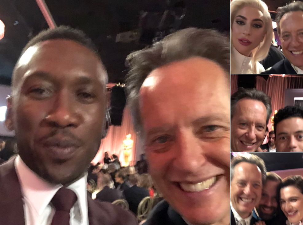 Richard E Grant Is All Of Us As He Unleashes His Inner Fanboy At Oscars