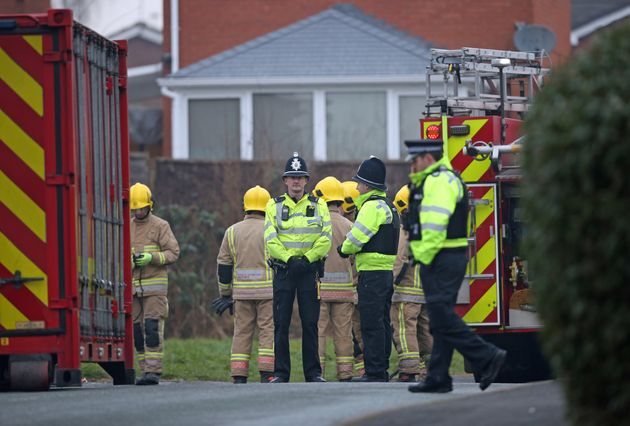 The fatalities were confirmed following a blaze on Sycamore Lane, Stafford.