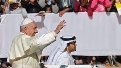 Grande messe inédite en plein air du pape François aux